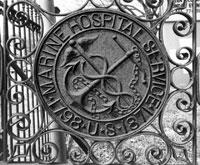 Marine Hospital gate